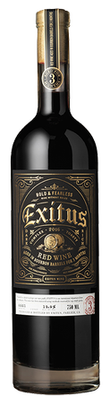 2017 Exitus Bourbon Barrel Aged Red Wine